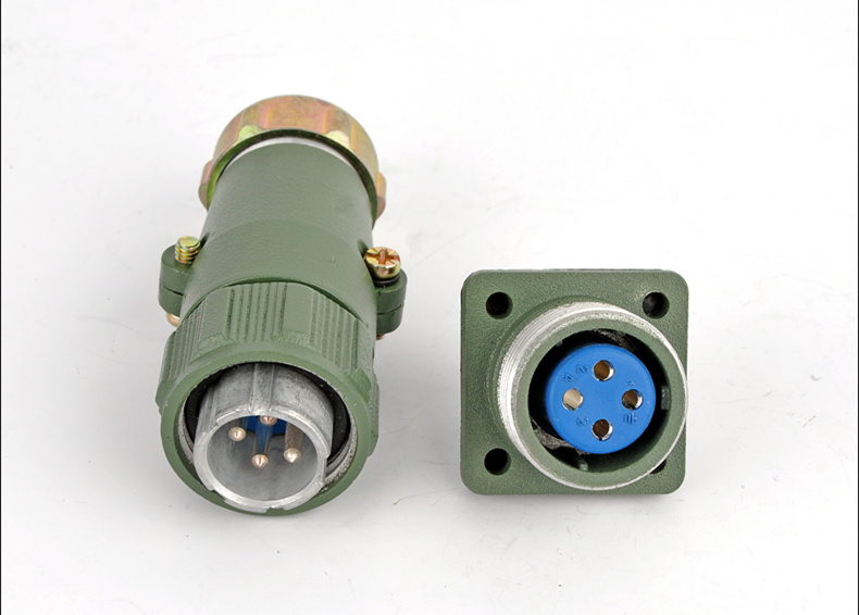 Select model H17 H20 Square 3KW Waterproof Aviation Plug and Socket Connector