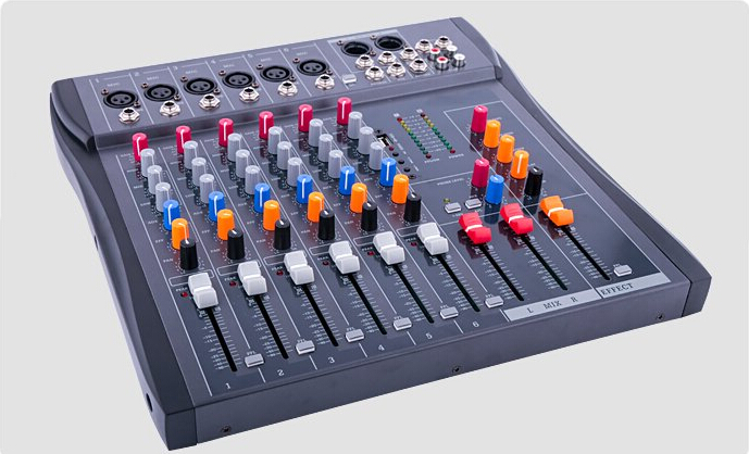 CT-60S/USB dj mixer professional Pre amplifier mixer 6 channel audio mixer karaoke mixer KTV reverberation mixing console ct 80s usb di mixer professional amplifier mixer 8 channel stage audio mixer karaoke mixer mixing console mesa dj preamplifier