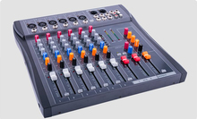 CT-60S/USB dj mixer professional Pre amplifier mixer 6 channel audio mixer karaoke mixer KTV reverberation mixing console