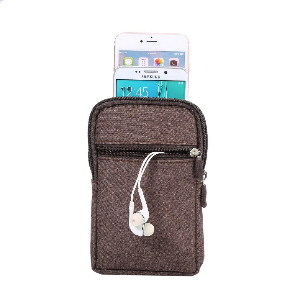 Teléfono del paño del vaquero bolsa de clip de cinturón para Samsung S7 S6  borde S5 S4 S3 Note3 4 5 con la pluma bolso de la cintura del sostenedor  para ... 01807fc19d06e