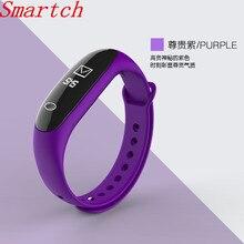 Smartch E26 умный Браслет крови Давление Smart Band услышать Rate Monitor крови кислородом деятельность фитнес-трекер для IOS Android