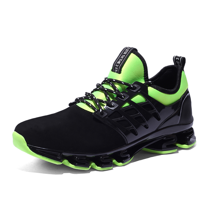 New Black slingshot Running Shoes Men Lovers Breathable Outdoor Sport Shoes  Summer Cushioning Male Shockproof Sole Men Sneakers