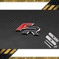 Frente emblema de Metal adesivos de Carro para Seat Leon FR 2 FR + Altea Exeo Ibiza Cupra Acessórios Do Carro Carro De Corrida Fórmula Styling