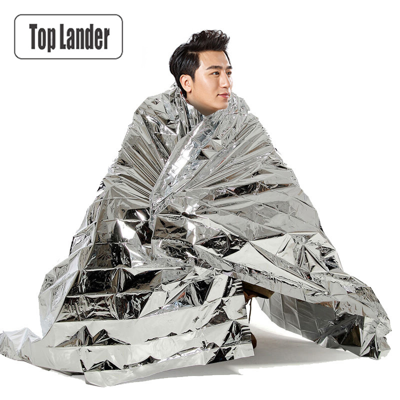 Emergency Blanket Foil Space Blanket Survival Safety First Aid Body Thermal A