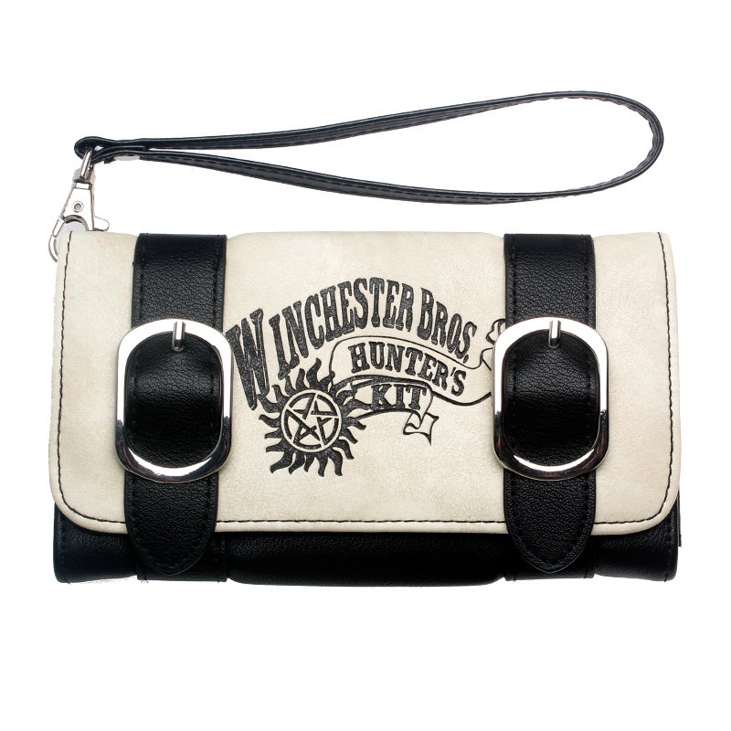 Supernatural Winchester Bros Wallet Women Purse DFT-6506