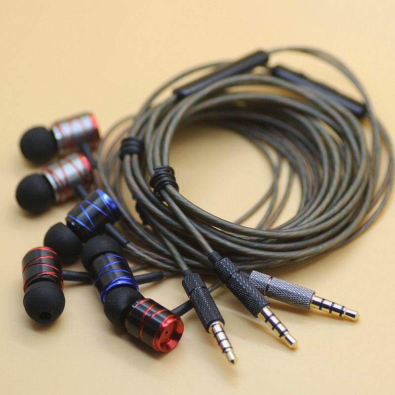 DIY earphone HIFI 9 2mm font b speaker b font Bass silver plated wire