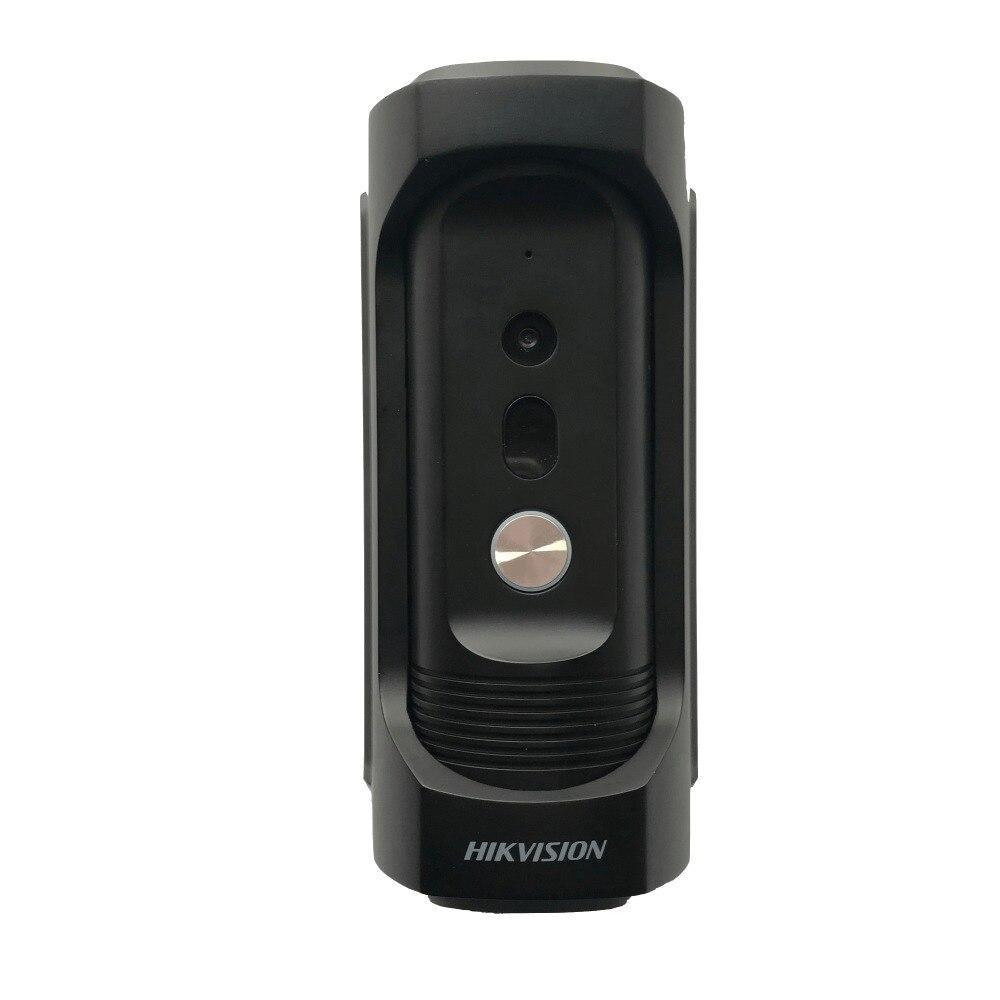 Hikvision телефон двери DS-KB8112-IM ip-видео-домофон водонепроницаемые антивандальном станции двери H.264 двери магнитный сигнализации дверной Звонок
