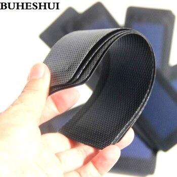 BUHESHUI Flexible Solar Panel+1W 1.5V Amorphous Solar Cell DIY Mobile Phones Foldable Solar Charger 10pcs/lot Free shipping