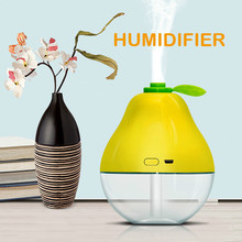 Ultrasonic Air Humidifier Soft Light USB Essential Oil Aroma Diffuser Car Purifier Aroma Anion Cool Mist Maker