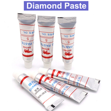 6pcs W7~W40 5g 5g orginal BADAK diamond paste Glass/ceramics/hard alloys/natural diamonds precious stones polishing paste tool