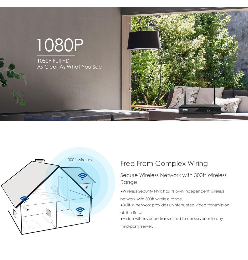 home camera system 1080P+NVR_02