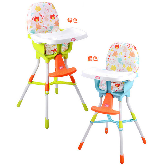 High Chairs For Babies Kids Balance Ball Chair Free Shipping Baby Portable Infant Seat Product Dining Lunch Safety Belt Feeding