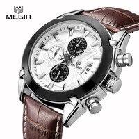 Top Luxury Brand Men S Fashion Casual Sport Watches Men Waterproof Genuine Leather Quartz Wristwatch Man