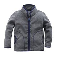 New 2019 spring autumn jackets baby boys girls polar fleece