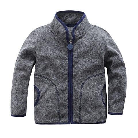 New 2019 spring autumn jackets baby boys girls polar fleece jackets soft warm children kids jackets outwear high quality Pakistan