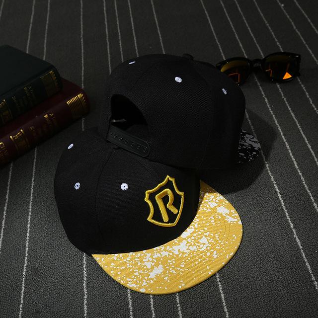 Begocool bonés de Beisebol letra R drake snapback chapéu para mulheres dos homens ajustável marca gorras hip hop COOL-006