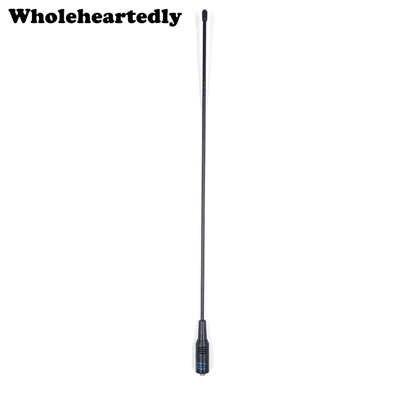 NA-771 NA771 SMA-F SMA Antena flexible de banda ancha doble VHF / UHF 144 / 430MHz Radio bidireccional para Kenwood BAOFENG UV-5R BF-888S