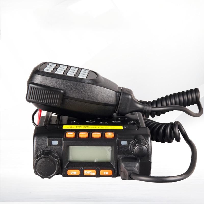 Mini car radio KS-5800 two way radio 136-174/400-480MHz dual band mobile transceiver walkie talkie  car radioMini car radio KS-5800 two way radio 136-174/400-480MHz dual band mobile transceiver walkie talkie  car radio
