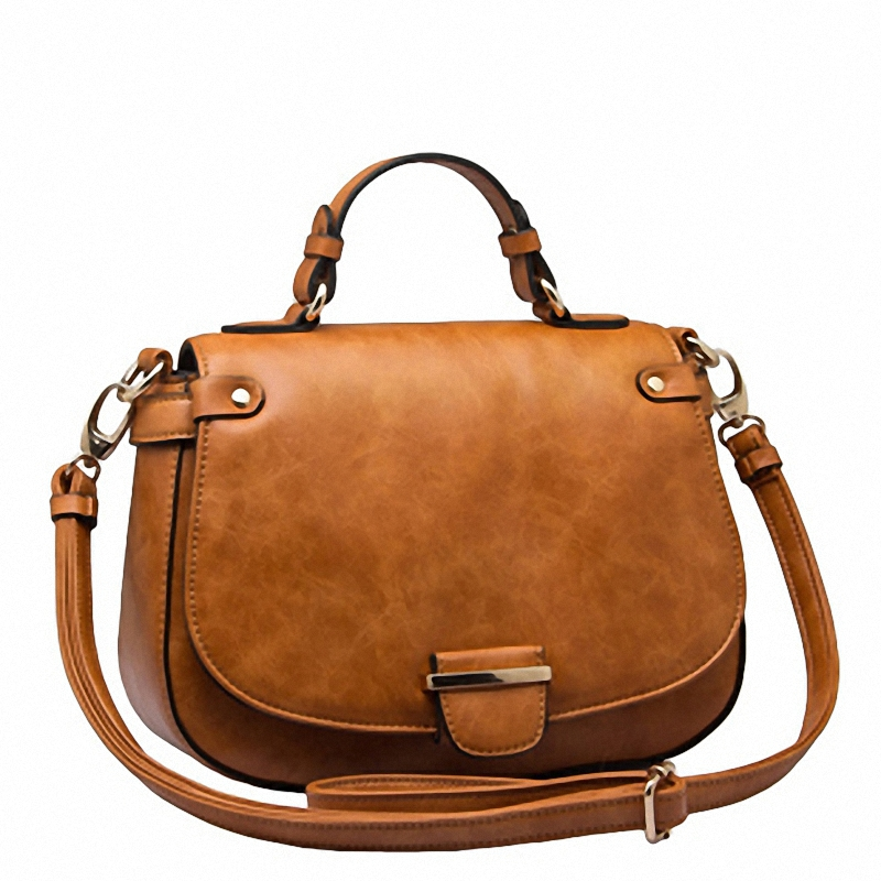 d333e8b4d8 2016 hot vintage oil wax genuine leather bags handbags women famous brands  messenger crossbody bag bolsas femininas AFGS-41