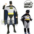 Family Matching Father Son Boys Batman Costume Superhero Halloween Fantasia Christmas Carnival Anime Cosplay Clothes Fancy Dress