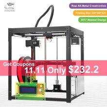 2017 Mais Novo Full metal Flyingbear-P905 DIY Estrutura Makerbot Impressora 3d kit de Alta Qualidade Precisão de nivelamento Automático Presentes