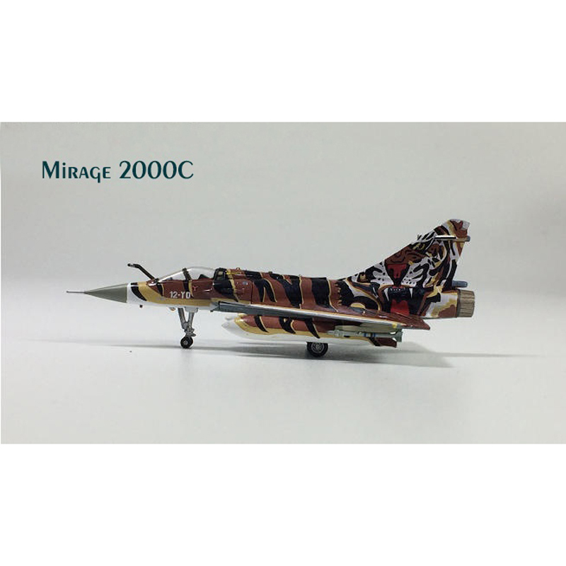 Hogan 1:200 Mirage 2000C Tiger Painted The European Community Fighter Model Toys & Hobbies
