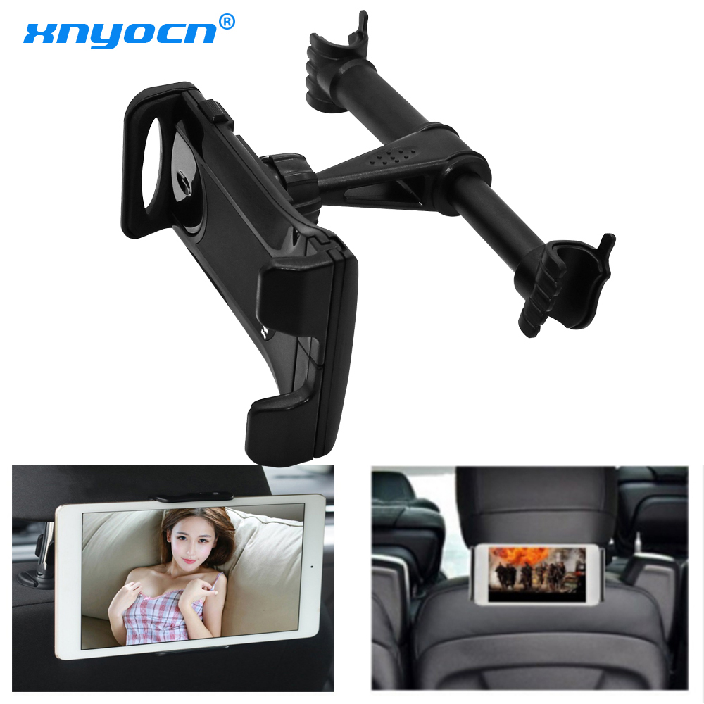 Xnyocn Universal 4-11'' Tablet Car Holder For iPad 2 3 4 Mini Air 1 2 3 4 Pro Back Seat Holder Stand Tablet Accessories in Car