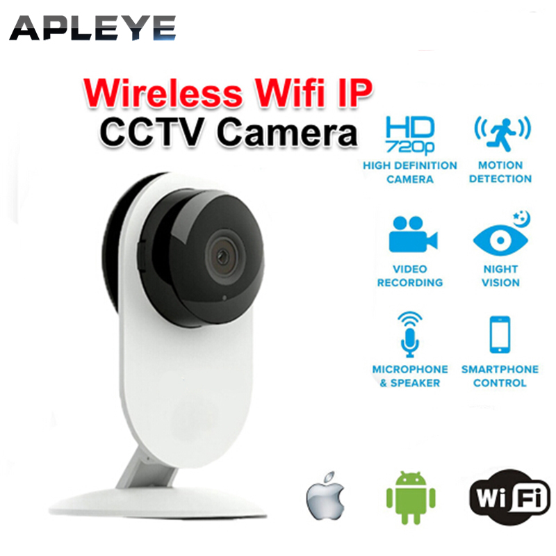 Mini 720P HD Wireless IP Camera CCTV Security Surveillance P2P Night Vision WiFi Network Baby Monitor Two Way Audio Camera