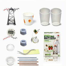 Battery Power Generation Experiment Electricity Circuit Physics, Science and Nature Toys, with English Instruction