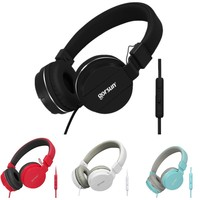High Quality 3 5mm Headset Music Headphones Bass Stereo With Mic Wired For Phone Computer PC