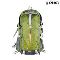 Casual Unisex Waterproof Nylon Lightweight Mountaineering Backpack Riding Travel Bags Large Capacity Trekking Knapsack Bag Z0