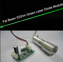 NEW Big Beam Fat Beam 50mW 532nm Green Laser Diode Module/Laser Stage Lighting Show+Focus цена 2017
