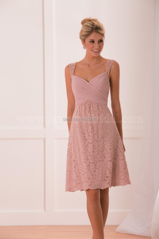 Aliexpress.com : Buy Custom Made Elegant 2017 Lace Bridesmaid Dress ...