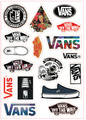 Hot Cartoon wall Laptop stickers for guitar box skateboard sticker bicycle motor luggage sticker on phone 5-12cm size