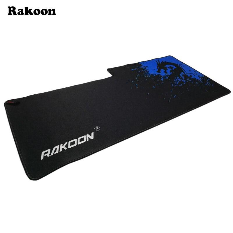 Rakoon 40x90cm Breach Anti-slip 3D Mouse Pad Gamer Large Professional Gaming Mousepad Grande Keyboard Mat for LOL Dota 2 CS GO