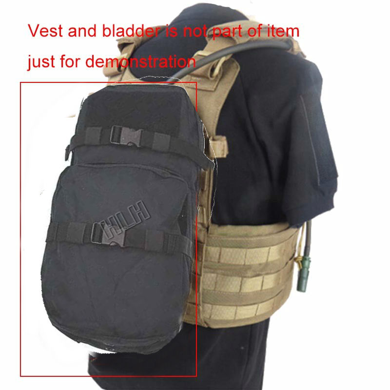 Outdoor Hydration Water Bag Molle Bladder Carrier Pack Pouch Load Bearing Backpack Travel Sport Hunting Biking Water Bags 3L 3l tactical water bottle bag knapsack hydration backpack pouch hiking camping cycling pack canteen water bag molle