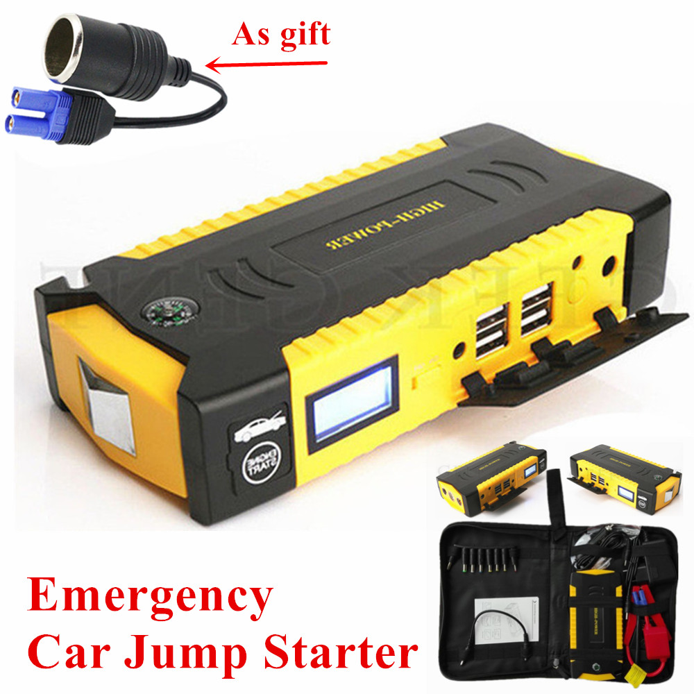 Car Jump Starter 12V 600A Portable Starter Power Bank Petrol Diesel Starting Device Car Charger For Car Battery Booster Buster car jump starter 600a portable starting device lighter power bank 12v charger for car battery booster starting petrol diesel ce