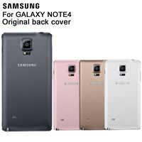 Samsung Original Battery Rear Case For Galaxy Note4 N9100 N910H Note 4 Phone Battery Backshell Cover Cases Back Battery Cover