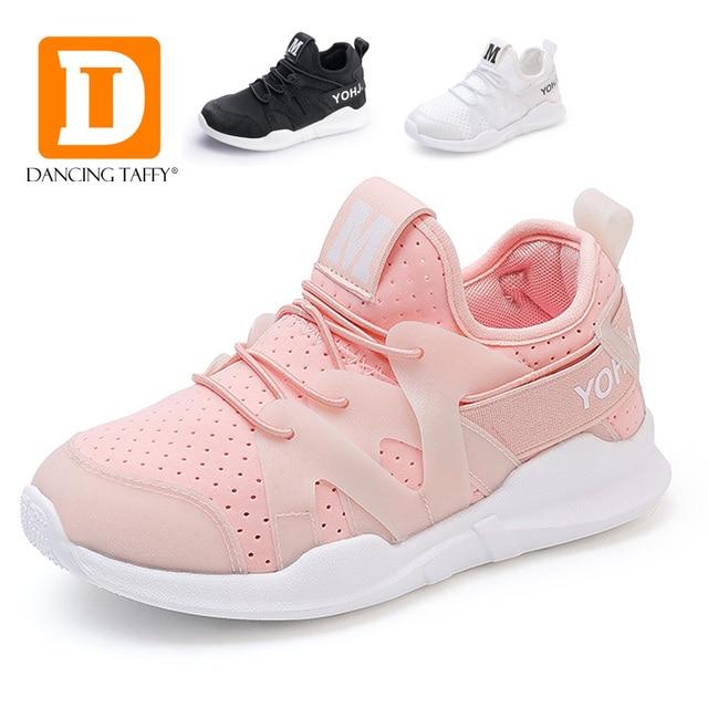 eb4e4bfa82f9 2017 Nouveaux Garçons Espadrilles Enfants Chaussures Mode Enfants  Chaussures Pour Fille Sneakers Mesh Respirant Casual Chaussures