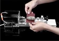 DIY Mini Lathe Polisher 220V/110V Grinder Drill Table Saw Machine Polishing Cutting Tools beads Woodworking Machine