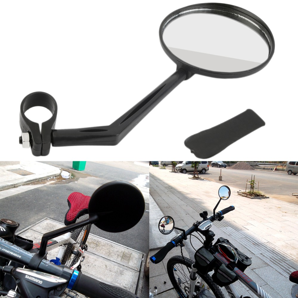 360 Degree Flexible Bicycle Bike Handlebar Rearview Vision Mirror Reflector Free Shipping Drop Shipping
