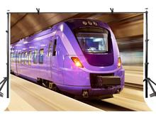 150x220cm Purple Metro Backdrop High Speed Subway Photography Background for Camera Photo Props
