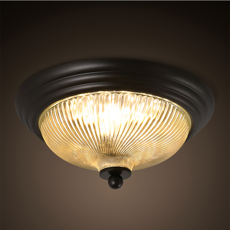 Small Hallway Lights: American Country Simple Bedroom Ceiling Lamp European