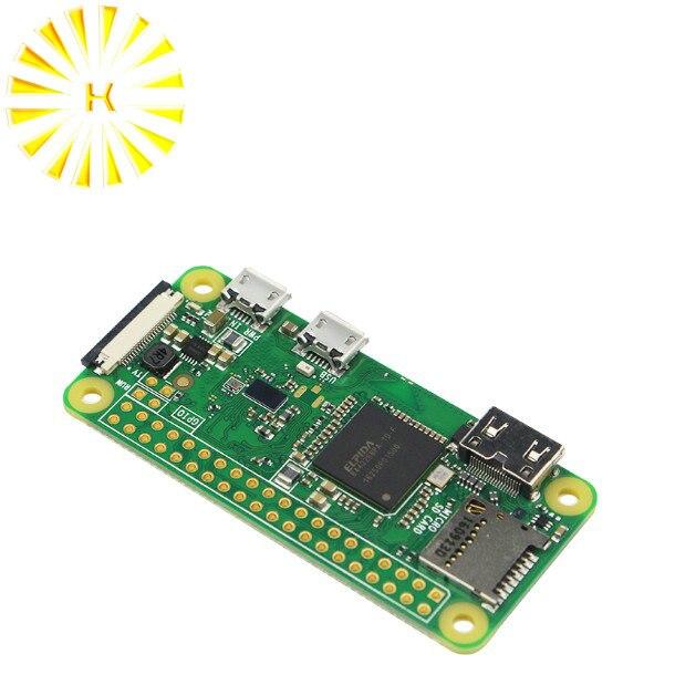 2018 Raspberry Pi Zero W Board 1GHz CPU 512MB RAM with Built-in WIFI & Bluetooth RPI 0 W Connector