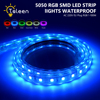 TSLEEN Free Shipping RGB LED Strip Light Free To Cut Waterproof 7 Color 60LEDS M 20M