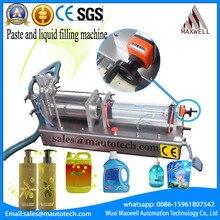 Bulaşık yıkama sıvı sabun/el sabunu dolum makinesi (0-1200 ml)