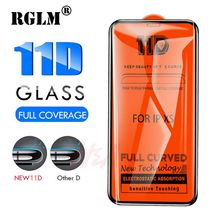 RGLM 11D Protective Glass for iPhone 7 Screen Protector iPhone 8 Xr Xs Xs Max Tempered Glass on iPhone X 6 6s 7 8 Plus Xs Glass цена