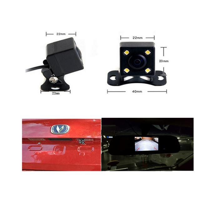 Mirror Night Vision Car Rear View Camera