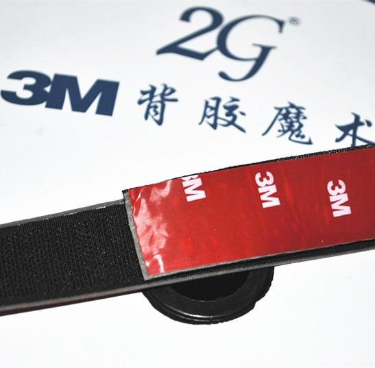 """Samolepicí háček a smyčka o šířce 3/4 """"(20 mm) s páskou s 3m lepidlem."""