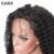Cara del frente del cordón pelucas de cabello humano brasileño rizado rizado encaje completo Pre Arrancó 8A Cabello humano Pelucas Del Frente Del Cordón Pelucas Para Negro mujeres